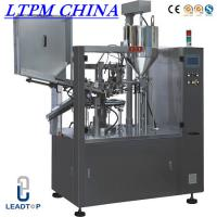 Cream Automatic Tube Filling and Sealing Machine For Plastic Tube Manufactures