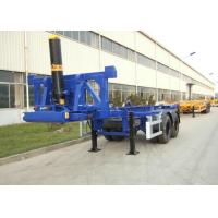 Buy cheap 2 Axles 20ft Flatbed Container Trailer Truck Container Dump Trailer from wholesalers
