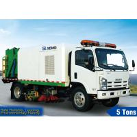 Cheap Spraying Road Sweeper Truck for sale