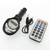 Car Mp3 Player Fm Transmitter Usb Pen Drive / Sd / Mmc Slot Electronics Products Manufactures