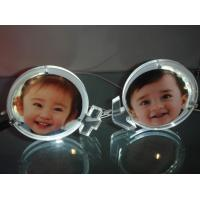 Buy cheap Customized Picture Frame Clear Acrylic Brochure Holders With LED Light from wholesalers