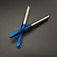 HRC65 Solid Carbide Reamer with Left Spiral Flute and Straight Shank Cutter Tool Manufactures