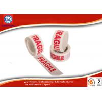 Cheap Custom Printed Warning Bopp Packing Tape For Fragile Products Packaging for sale