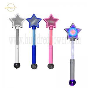 China Magic Sparkling  Light Up Wand Toy 43.5CM Flashing Princess Wand For Christmas on sale