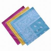 China Light Color Bandana, Designed for High Level of Comfort and Protection from Elements on sale