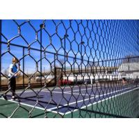 Cheap PaddleTennis Court Wire Fencing  , Galvanized After Weaving , 16 Gauge , 1 Inch for sale