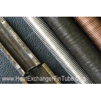 A334 Gr 1 / 3 / 6 Carbon Steel Threaded Low Fin Tube for Ventilation system Manufactures