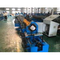 Buy cheap Metal Stud And Track Roll Forming Machine Drywall Furring Channel Usage from wholesalers