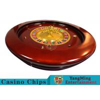 Cheap Deluxe Solid Wooden Roulette Wheel Game Difficult To DeformationFor Casino for sale