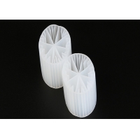 Plastic Material MBBR Bio Media Virgin HDPE And White Color 15*15mm Size For Water Manufactures