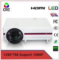 China Interactive Game Network LED Multimedia Projector 720p , HD Home Cinema Projector on sale