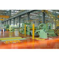 Automatic Clamping Steel Coil Slitting Machine φ508 φ610 φ760mm Non Contact Braking Manufactures
