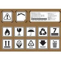 Non Toxic Logistic Labels , Waterproof Design Shipping Address Label Manufactures