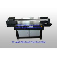 1200dpi Furniture Flatbed  Wood UV Printer With Ricoh GEN5 Print Head Manufactures