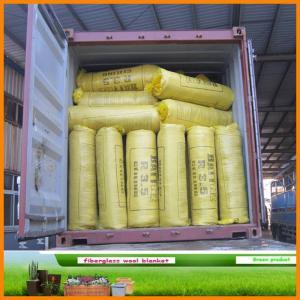 China 12kg/m3 30m*1.2m*0.05m glass wool on sale