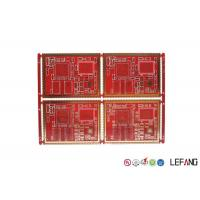 6 Layers High Frequency PCB FR - 4 Material For Communication Power Amplifier Manufactures