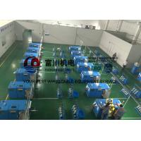 Passive / Active Pay Off Copper Wire Bunching Machine For 0.08mm - 0.45mm Copper Wire