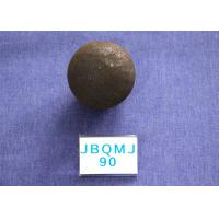 Cheap D90mm Grinding Balls For Mining , Grinding resistant Hot Rolled steel mill media for sale