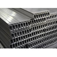 Silver Industrial Standard Aluminum Extrusion Profiles Mill Finish Custom Length Manufactures