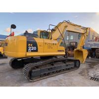 2018 Year 22 Ton Second Hand Crawler Excavator Komatsu PC220 - 8 Diggers Machinery Manufactures
