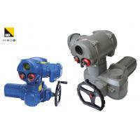 High Presicion Intelligent Electric Rotary Valve Actuator With LCD Display Screen Manufactures