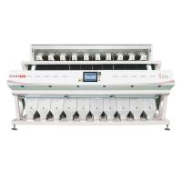 Recyclable 10 Channels Coix Rice Color Sorter With Full Color CCD RGB Camera Manufactures