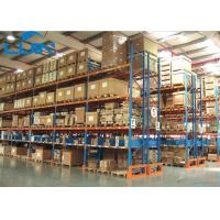 Metal Industrial Storage Rack For Warehouse Storage Solutions Powder Coated Finishing Manufactures