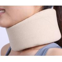 Quality adjustable comfortable soft foam cervical collar cutting sponge neck collar for sale