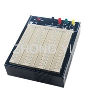 2420 Points Colored Coordinates Brown Power Supply Breadboard With Metal Case Manufactures