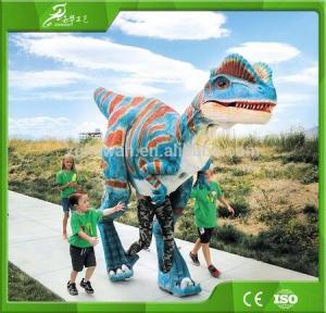 KAWAH Animatronic Adult Life Like Man Riding Dinosaur Costume Manufactures