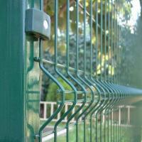 Razor Welded Wire Mesh Fence Panels In 6 Gauge Airport Security Perimeter Manufactures