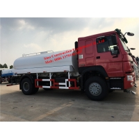 WD615.87 290hp Engine Euro III  4x2 12m3 Water Tank Truck Manufactures