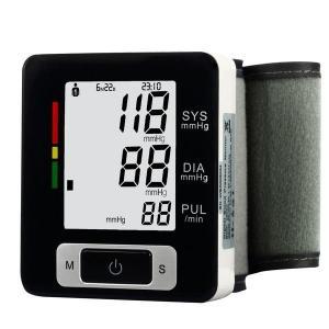 Digital LCD Wrist Screen Blood Pressure Monitor Meter Heart Beat Monitor Manufactures