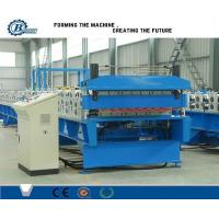 Custom Metal Roof Panel Double Layer Roll Forming Machine , Roof Tile Making Machine Manufactures
