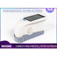 Quality Single Angel Professional Gloss Meters NHG60 , Intelligent Gloss Level Measurement For Patch Paint for sale