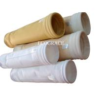 Crusher Dust Filter Needle Felt Bags, Cement Gas Filtration Polyester Filter Bag Used in Asphlat mixing Manufactures