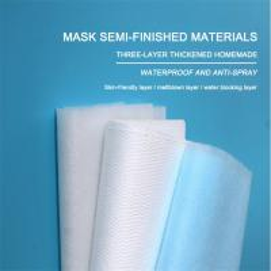 China 20gsm-150gsm Spunbond Nonwoven Fabric N99 Polypropylene Medical Meltblown Fabric on sale