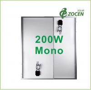 Buy cheap 200 Watt Anti - Aging EVA Monocrystalline Solar Panels For Rooftop / Camping from wholesalers