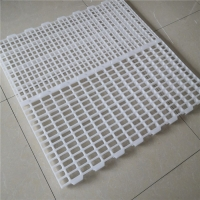 100% Pure PP Broiler 40mm Slatted Floor System In Poultry Manufactures