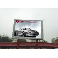 Cheap High Luminance P10 led outside screen display 1080P High Color Contrast for sale