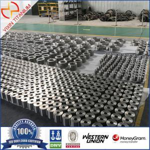 China Baoji Yixin-Unalloyed Titanium Seamless Ring-Subsea Christmas Tree Application on sale