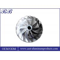 Investment Casting Stainless Steel Impeller Lightweight 7.93g/Cm3 Density Manufactures