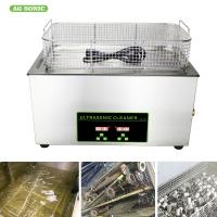 Heated Industrial Pump Digital Ultrasonic Cleaning Machine Automatic 30l Tank Manufactures
