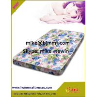 Single Size Rebonded Foam Mattress Manufactures