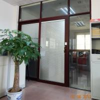 China Tempered clear glass aluminium sliding door on sale