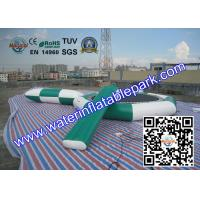 Floating Inflatable Water Trampoline Combo Game Playing On Sea Or Lake Manufactures