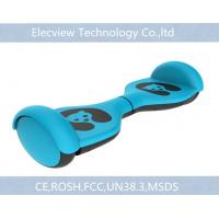 China Blue Smart Kids Self Balancing Scooter 2 wheels with LED lighting on sale
