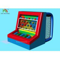Red Blue Multi - Functional  Inflatable Sports Games Footballs Penalty Play Games Manufactures