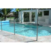 BS6206 Standard Pool Fencing Glass With Polished Edges No Holes Manufactures