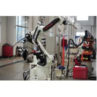 Gantry - hanging Welding Robotic Arm for Stainless Steel / Aluminum Manufactures